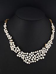 Cute/Party/Casual Alloy/Imitation Pearl Pendant Necklace