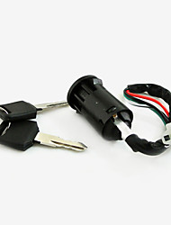 4 Wire Ignition Key Switch Lock For Moped Scooter Quad ATV Pit Dirt Bike