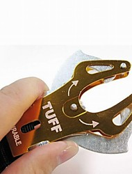 Outdoor Aluminum Alloy Mountaineering Buckle(Random Color)