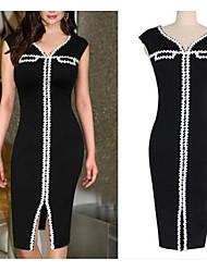 VICONE Women's Vintage/Sexy/Bodycon/Party Sleeveless Dresses