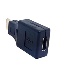 USB 3.1 Type C Male Connector to Type C Female Data Extension Adapter for Nokia N1 Tablet & Mobile Phone
