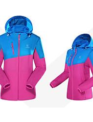 Tops/Paravientos/Jerseyes/Personalizada ( Rojo/Azul ) -Impermeable/Transpirable/Resistente a los UV/Cremallera impermeable/A prueba de