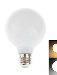 Zweihnder E27 5W 450LM 3000/6000K 28x2835 SMD Cool/Warm White Glass Bulb Lamp (AC 85-265V,1Pcs)