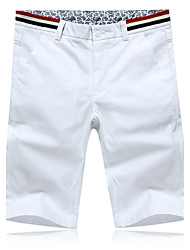 Men's  summer of five new men's leisure pants shorts size white frock casual shorts men's casual pants summer