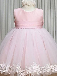 Kid Dress/Cute/Party Dresses (Cotton/Mesh)