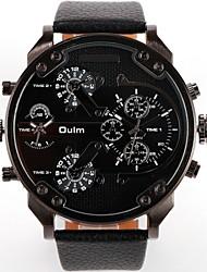 Мужской Модные часы Кожа Группа Люкс
