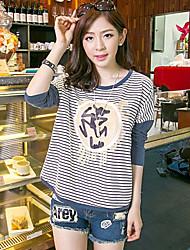 Katoen Vrouwen - T-shirt - Lange mouw