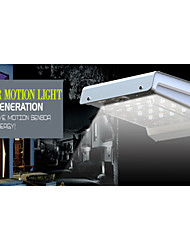 Outdoor Motion Sensor Solar Wall Lights - 16leds Inside White Light -Waterproof
