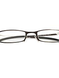 [бесплатная линзы] прямоугольник полный обод чтения очки