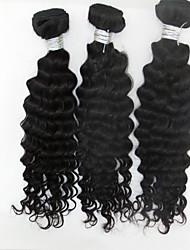 """3pcs / lot +10 """"-28"""" brasiliane nuove economici estensioni di trama dei capelli non trattati onda ragazza remy capelli dell'onda sexy"""