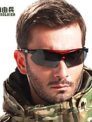 Ciclismo/Pesca/Acampada y Senderismo/Motocicleta/Gafas de visión nocturna/Máscara Protectora hombres 'sPolarizada/100% UV/Lucha contra el