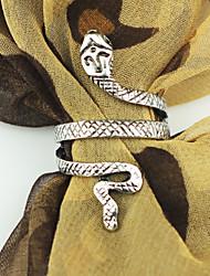 Anéis Pesta / Diário / Casual Jóias Liga Casal Anéis Grossos 1pç,8 Bronze / Prateado