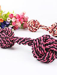 Perros Juguetes Bola Mancuerna / Campana Textil