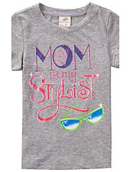 Katoen - Zomer - Girl's - T-shirt