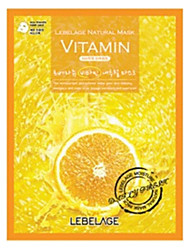 lebelage naturais máscara-vitamina 23g x 5 folhas