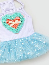 Dog Dress Blue / Pink Summer Wedding / Cosplay