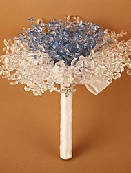 Blue Yakeli The Bride Holding Flowers A Bouquet of Originality The Maid of Honor Guest Hand Bouquet