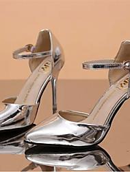 Pumps/Heels ( Caucho , Dorado/Plateado )- 6-9cm - Tacón de estilete para Zapatos de mujer