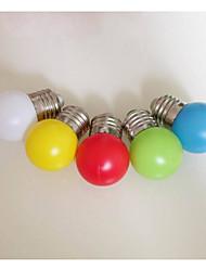couleur e27 conduit ampoule 0.33W en plastique abat-jour lanterne veilleuse dédié (AC220V)