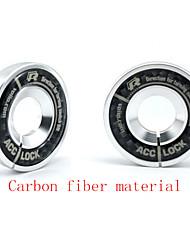 углеродного волокна алюминия зажигания замочную скважину декоративное кольцо для VW LaVida гольфу 6CC Audi a4a6a6la8