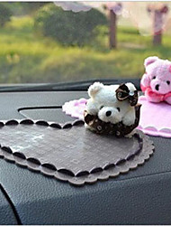 Car Interior with Little Bear Mat Car Styling
