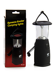 Outdoor LED Lamp Hand Power Generation Camping Tent Lamp Solar Charging