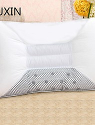 yuxin® oreiller magnétique oreiller graines de cassia oreiller de soins de santé de thérapie oreiller cervical semi-