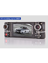 GS50 Car Dvr Allwinner F20 Chipset 2.7 Inch 120 Degree View Angle 4X Digital Zoom Dual Lens