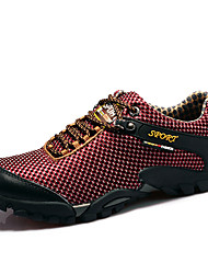 Hiking Men's Shoes Blue/Red/Brown