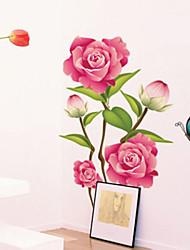 Wandaufkleber Wandtattoos Blumen Wandaufkleber PVC-