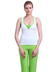 arco-íris folha de bordo novas calças de ioga de fitness moda high-end das mulheres cal cor verde / roxa