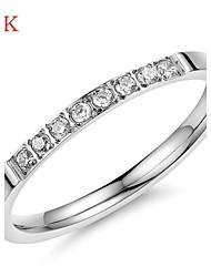 OPK®Elegant Ms Gold Plated Diamond Ring