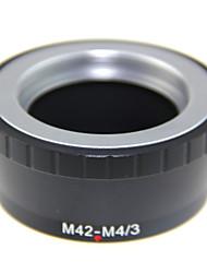 lentille adaptateur de montage pour objectif m42 à micro 4/3 m43 gx1 GF5 ep3 epl5 omd em1 m42-m43 pour Panasonic G1 GH1 GF1 g3 GF3