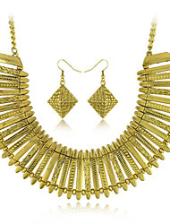 Women's European and American fashion major suit Earrings Necklace Set(1 set)8586-28