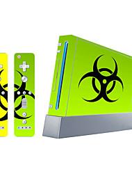 b-Skin® Wii-Konsole Schutzaufkleberabdeckung Haut Controller Haut Aufkleber