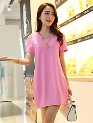 Women's Plus Size Summer Slim Dress