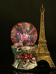 torre de luz do cristal eletrostática forma relâmpago bola mágica