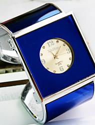 женская новая высокого класса алмазов циферблат Fashion Square, кварц браслет часы (разных цветов)