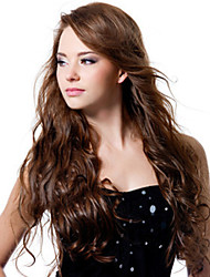 Women Lace Front Wig 10inch~24inch India Hair Color(#1 #1B #2 #4) Body Wave Hair