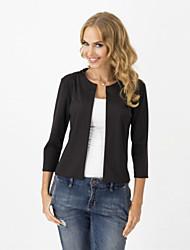 Women's Casual/Cute/Work Fashion Slim Short Blazer
