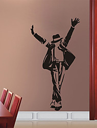 Fashion PVC Forever Michael Jackson Wall Stickers Wall Art Decals