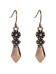 Fashion Vintage Women Dangle Earrings Jewelry Unique Design Antique Silver Color Earrings