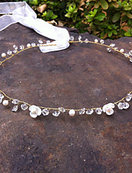Women/Flower Girl Pearl/Crystal/Ture Shell Flower Tiaras/Headbands With Wedding/Party Headpiece