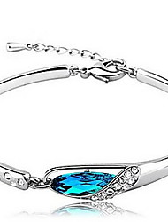 Vintage/Cute/Party/Work/Casual Alloy/Gemstone & Crystal Bangle Bracelet Christmas Gifts