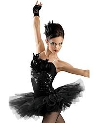 Tutus ( Como na Imagem , Lantejoulas/Tule/Licra/Penas , Balé/Dança Moderna/Espetáculo ) - de Balé/Dança Moderna/Espetáculo -
