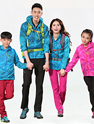 Children's Outdoor Ultra Light Rain Jacket Trench Coat