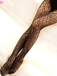 Women New Hot Sexy Black Spider Web Fishnet Pantyhose Ladies Stockings Tights Sheer for girls Free shipping