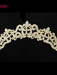 Neoglory Jewelry Flower Hair Combs Tiara with Alloy and Clear Rhinestone for Lady/Bridal/Party/Daily (More Color)