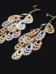 Fashion Cheap Jewelry Gold Plated Earring Long Drop Earrings