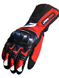 Мотоцикл перчатки Полныйпалец Бамбуковое углеволокно L/XL/XXL Красный/Черный/Синий